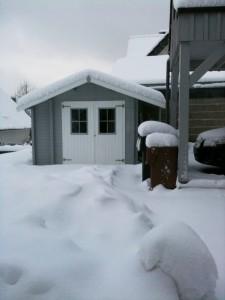Erneuter Wintereinbruch.....